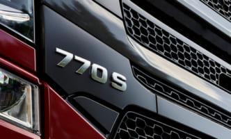 スカニア、最大770馬力で燃費改善の新V8エンジン