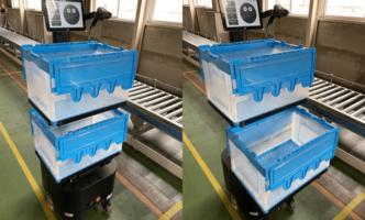 京葉流通倉庫の拠点で協働型ピッキング補助ロボ稼働
