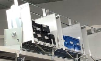 日立物流が昇降棚でEC物流対応、既存倉庫生かす